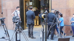 Lindt siege Sydney cafe reopens 14 4K Stock Footage