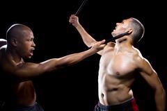 Kali Escrima Martial Arts - stock photo