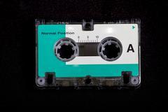 Retro / Vintage Micro Cassette Tape Stock Photos