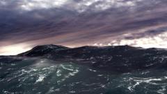 Turbulent Ocean Stock Footage