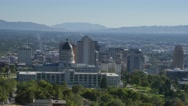 Stock Video Footage of Salt Lake City Valley