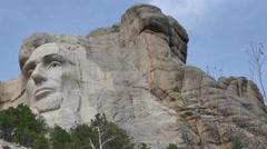 Mount Rushmore Pan Stock Footage