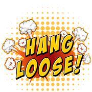 Hang loose Stock Illustration