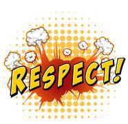Respect Stock Illustration