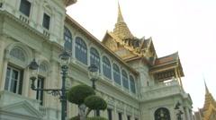 The Grand Palace, Bangkok, Thailand Stock Footage