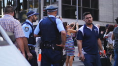 Lindt siege Sydney cafe reopens 16 4K Stock Footage