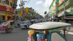 Traffic in Puerto Princesa, Philippines Stock Footage