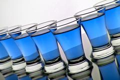 glass goblet - stock photo