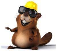 Stock Illustration of Fun beaver