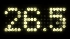 30 Second Scoreboard Countdown - Decimal - stock footage