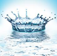 Beautiful splash Stock Photos