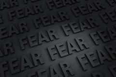 Dark Fear Background - stock illustration