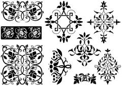 Ornamental Decoration Stock Illustration