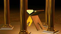 Quran 3D Stock Footage