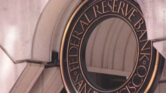 Federal Reserve Bank, San Francisco Calif. Stock Footage