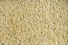 Background texture of wholesome cracked wheat - stock photo