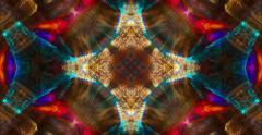 Dendritic Minds Eye Kaleidoscope Abstract 4K - stock footage
