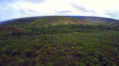 Aerial View from Chapada dos Viadeiros in Goias, Brazil - stock footage