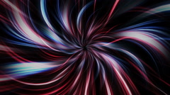Lines tunnel PS FR Stock Footage