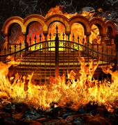 Stock Illustration of Hell Gates