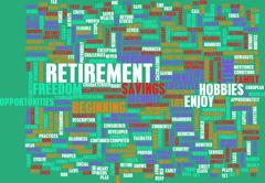 Stock Illustration of Retirement