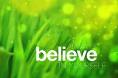 Stock Illustration of Always Believe In Yourself
