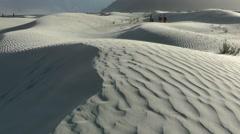 Sand dunes,Sumur,Ladakh,India Stock Footage