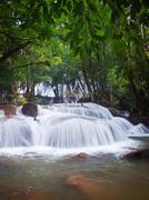 Pha Tat Waterfall Stock Photos