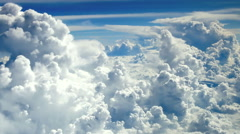 HD: Flying above the clouds, 1920x1080 Arkistovideo