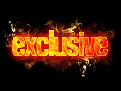 Fire Text Exclusive - stock illustration