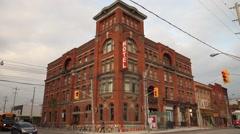 Gladstone Hotel Toronto Canada Stock Footage