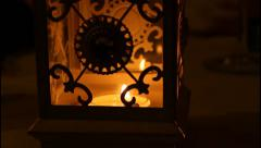 Candle close up Stock Footage