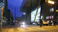 CN Tower Toronto Stock Footage