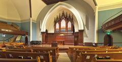 Church interior Portland Oregon. - stock photo