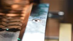 Jewellery laser Stock Footage