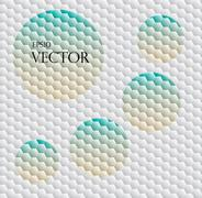 Seamless background with hex grid Stock Illustration