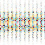 Background with the coloured circles in a vector Stock Illustration