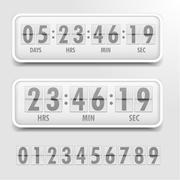 Stock Illustration of Countdown Timer