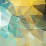 Polygonal abstract geometry background Stock Illustration