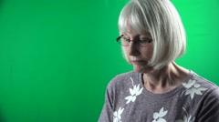 Senior Citizen , Woman - stock footage