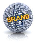 Branding concept Stock Illustration