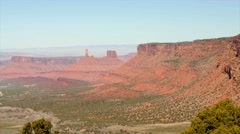 Amazing scenic view in southern utah Stock Footage