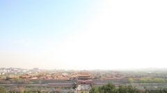 Forbidden city,Beijing,China Stock Footage