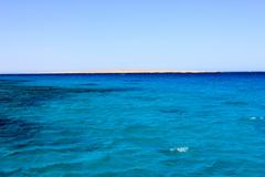 Sea Blue Water Background. - stock photo