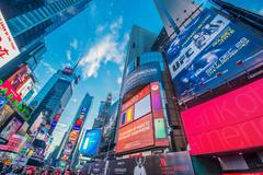 Stock Photo of New York - DECEMBER 22, 2013: Times Square on December 22 in USA