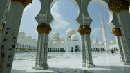 Stock Video Footage of Sheikh Zayed Grand Mosque
