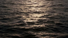 Open sea waves ripples - stock footage