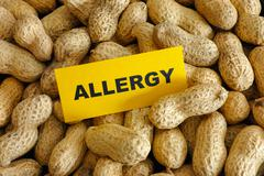 Peanut allergy Stock Photos