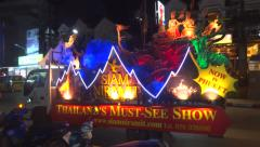Must see Thailand show Stock Footage