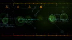 Digital screen Stock Footage